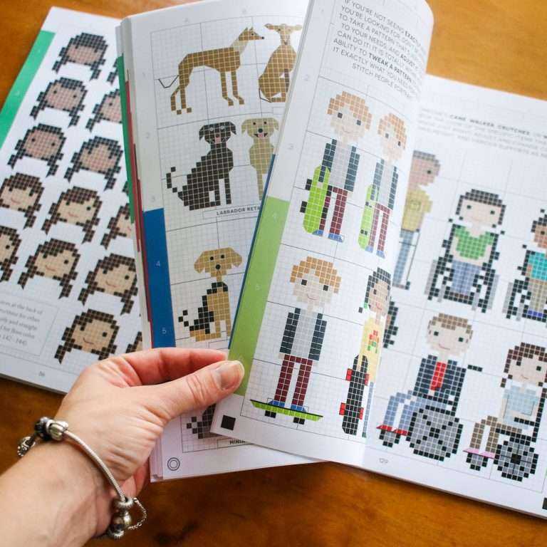 DIY Stitch People Book